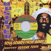 Clinton Fearon - Message To The Nation / Upsetters - Dub Message (Black Art / Reggae Fever) 7""